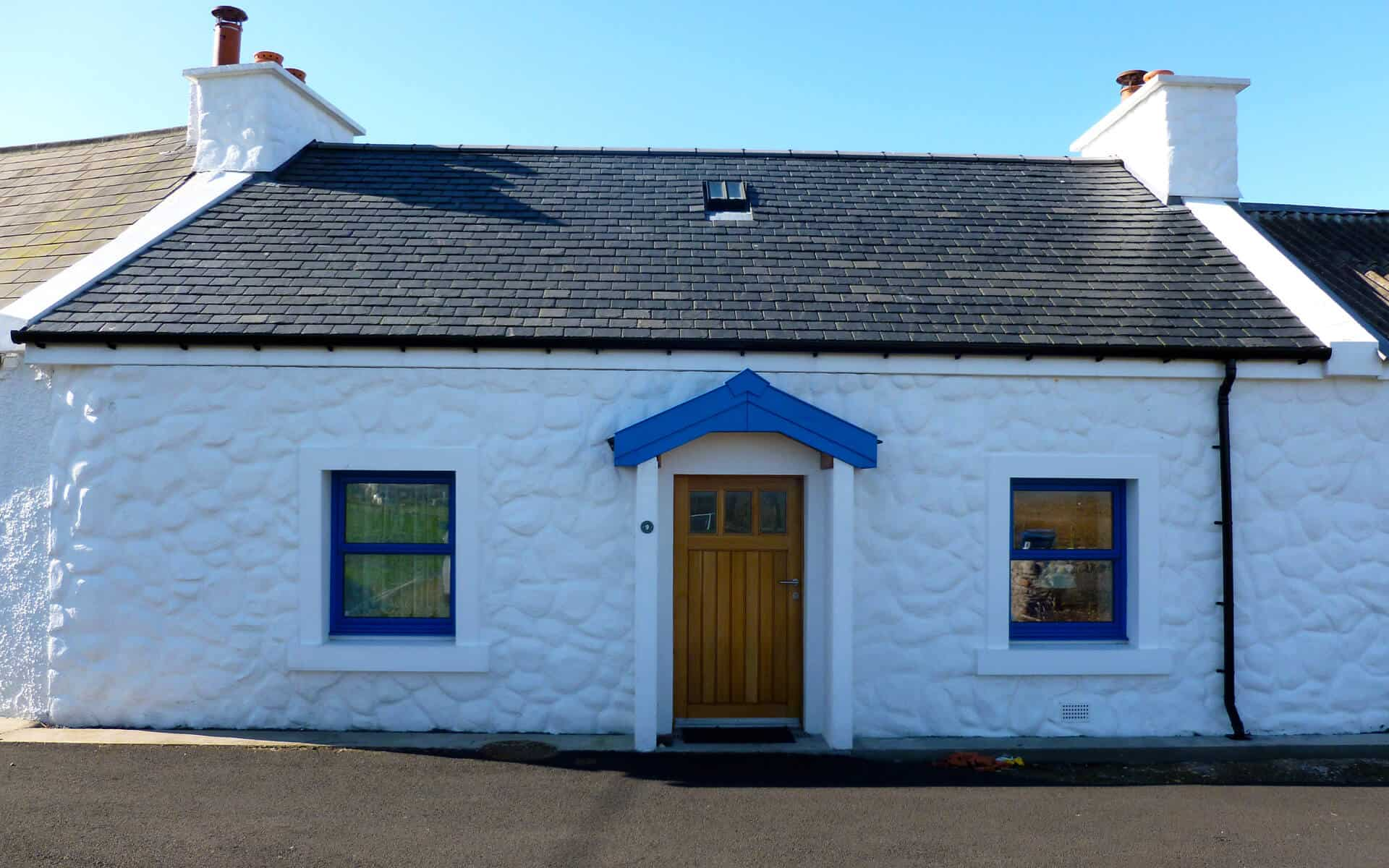 Cluain Cottage, Crom Street, HRI Architects, Architectural Services Inverness Highland