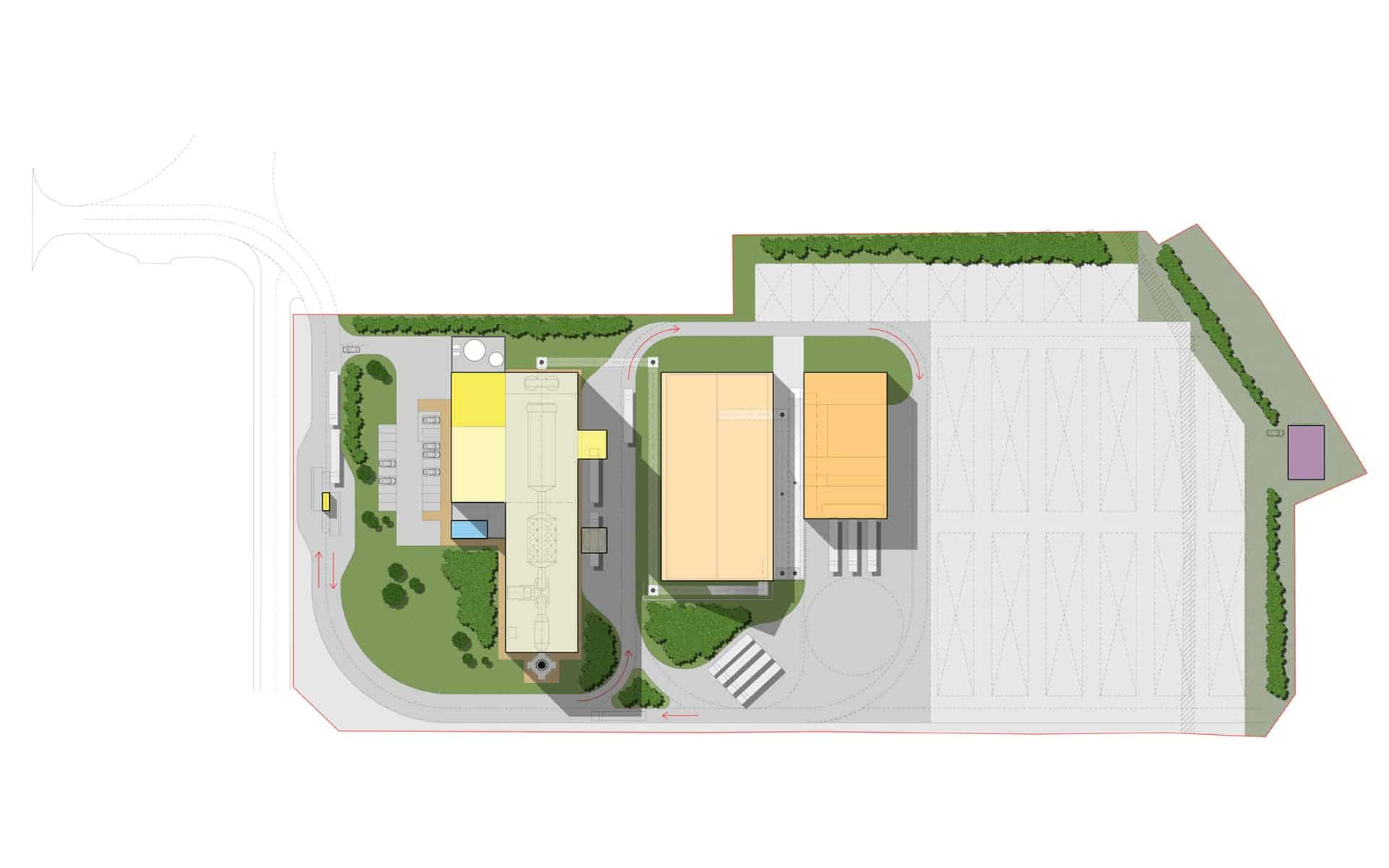 Biomass Energy Plant,HRI Architects, Architectural Services Inverness Highland