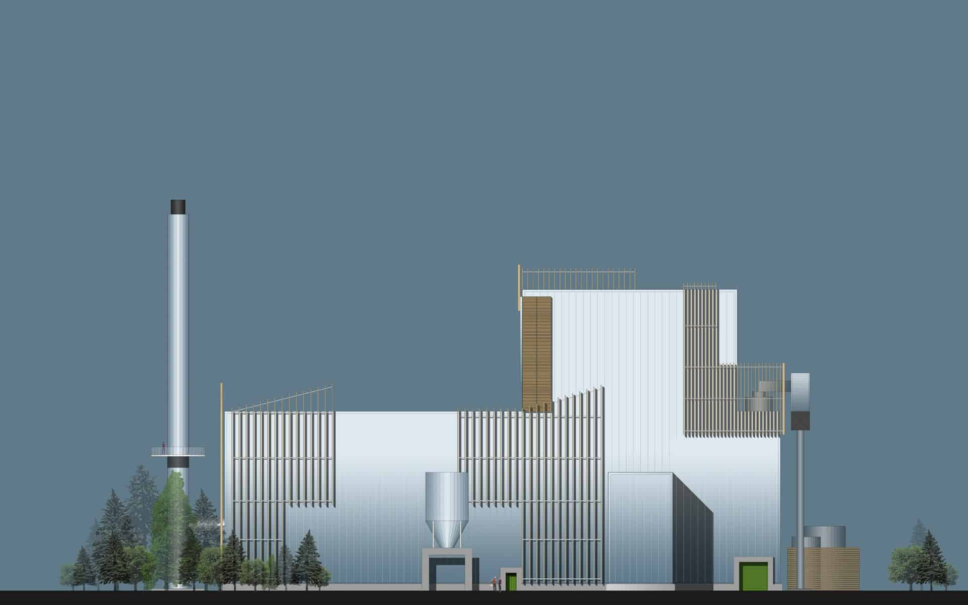 Biomass Energy Plant, HRI Architects, Architectural Services Inverness Highland